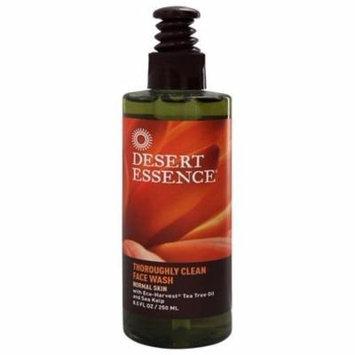 Thoroughly Clean Face Wash Tea Tree Oil & Sea Kelp - 8.5 fl. oz. by Desert Essence (pack of 6)