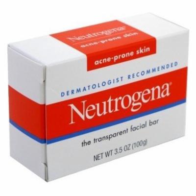 Neutrogena Acne-Prone Skin Formula Facial Bar 3.5 oz (Pack of 6)
