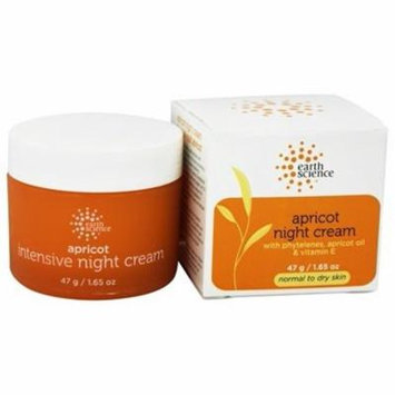 Night Creme Intensive Apricot - 1.65 oz. by Earth Science (pack of 6)