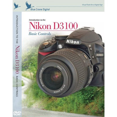 Blue Crane Digital - Introduction to the Nikon D3100 Instructional DVD