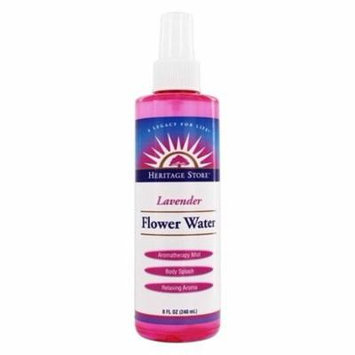 Lavender Flower Water - 8 fl. oz. by Heritage (pack of 12)