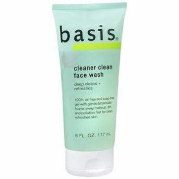 Basis Face Wash Cleaner Clean 6 oz (Pack of 5)