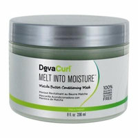 Melt Into Moisture Matcha Butter Conditioning Mask - 8 fl. oz. by DevaCurl (pack of 2)