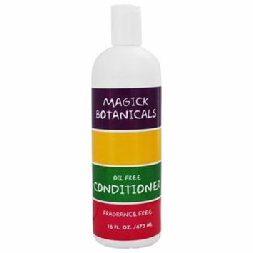 Conditioner Oil Free Fragrance Free - 16 fl. oz. by Magick Botanicals (pack of 4)