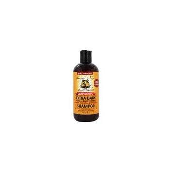 The Original Authentic Jamaican Black Castor Oil Hydration & Detangling Shampoo Extra Dark - 12 fl. oz. by Sunny Isle (pack of 6)