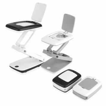 Keenso Portable Foldable 3X Magnifier LED Desktop Lamp Light Reading Writing Magnifying Glass , LED Magnifying Glass , Magnifier Light