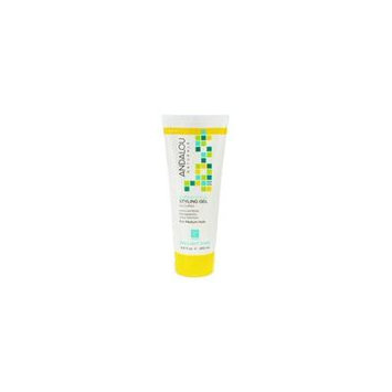 Brilliant Shine Styling Gel Sunflower & Citrus - 6.8 oz. by Andalou Naturalsf (pack of 2)