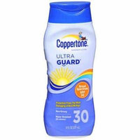 Coppertone UltraGuard Sunscreen Lotion SPF 30 - 8 oz, Pack of 4