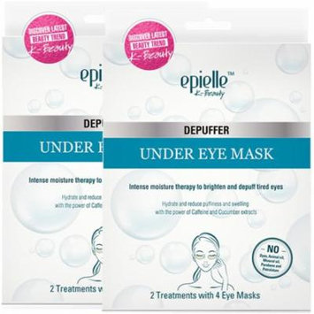 Epielle Depuffer Under Eye Mask, 2ct (2 pack)