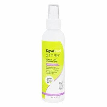 Set It Free Finishing Hair Mist - 6 fl. oz. by DevaCurl (pack of 3)