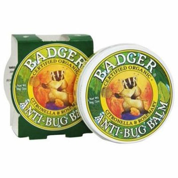 Anti-Bug Balm Citronella And Rosemary - 2 oz. by Badger (pack of 4)