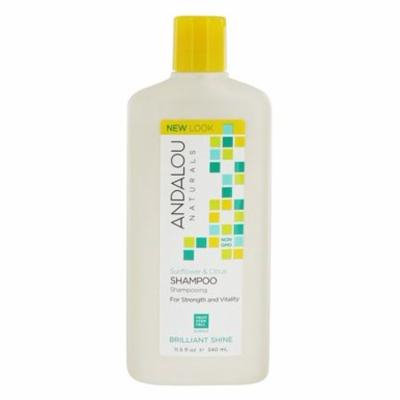 Sunflower & Citrus Brilliant Shine Shampoo - 11.5 fl. oz. by Andalou Naturals (pack of 4)