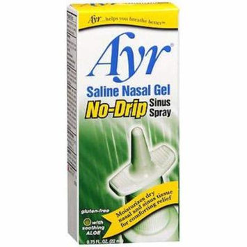 Ayr Saline No Drip Sns Ns Size .75z Ayr Saline No Drip Sinus Nasal Gel .75z