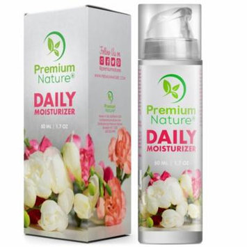 Face Cream Daily Moisturizer 1.7 oz - Natural Facial Skin Care Under Eyes Bags Puffy Dark Circles Spot Wrinkles Acne Best Night Treatment Lotion Gel Serum Rosehip Seed Oil Limited Edition 2.0