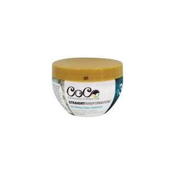 Straight Transformations Smoothing Deep Treatment - 8 fl. oz. by CoCo Conscious Collective (pack of 2)