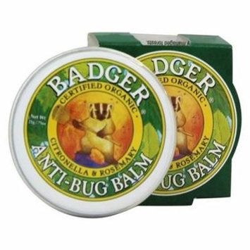 Anti-Bug Balm Citronella & Rosemary - 0.75 oz. by Badger (pack of 4)