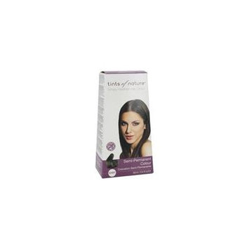 Semi-Permanent Hair Color Dark Brown - 3 fl. oz. by Tints Of Nature (pack of 6)