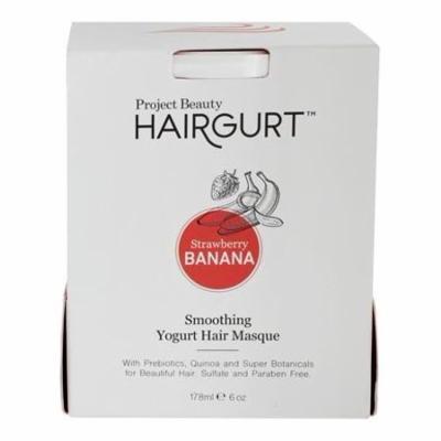 Smoothing Yogurt Hair Masque Strawberry Banana - 6 fl. oz. by Hairgurt (pack of 6)