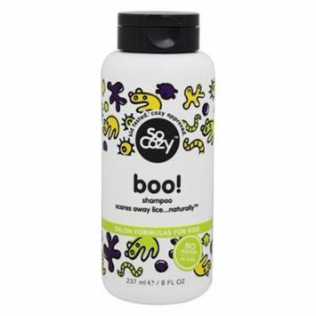 Boo! Lice Prevention Shampoo for Kids - 8 fl. oz. by SoCozy (pack of 2)