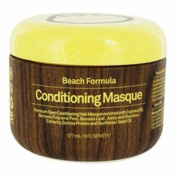 Beach Formula Conditioning Masque Hair Mask - 6 fl. oz. by Sun Bum (pack of 2)