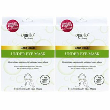 Epielle Dark Circle Under Eye Mask, 2ct (2 pack)