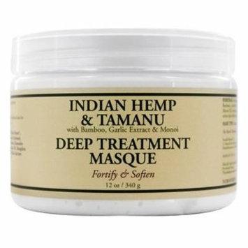 Deep Treatment Hair Masque Indian Hemp & Tamanu - 12 oz. by Nubian Heritage (pack of 1)