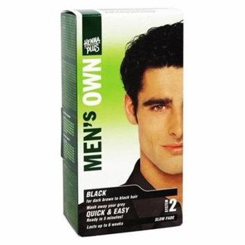 Men's Own Black - 3.8 fl. oz. by Henna Plus (pack of 3)
