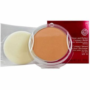 3 Pack - Shiseido Sheer and Perfect Compact Refill, Natural Deep Ivory .35 oz