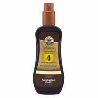 Australian Gold Spf#04 Spray Gel With Instant Bronzer 8 Ounce (235ml) (6 Pack)