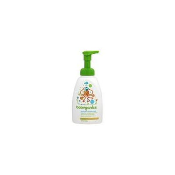Foaming Shampoo + Body Wash Fragrance Free - 16 fl. oz. by BabyGanics (pack of 2)