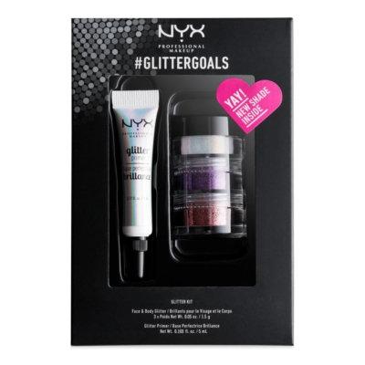 Nyx Professional Makeup 4-Pc. #GlitterGoals Set