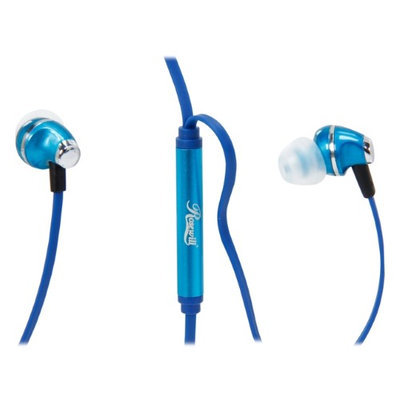 Rosewill Blue Passive Noise Isolating Earbuds with Control Button for Cellphone