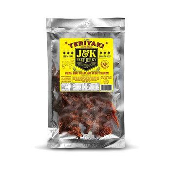 J&K Beef Jerky - Teriyaki Flavor 8oz