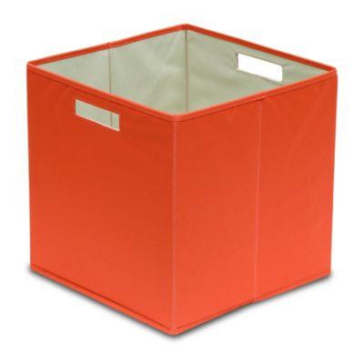 b+in™ Fabric Bin in Hot Coral