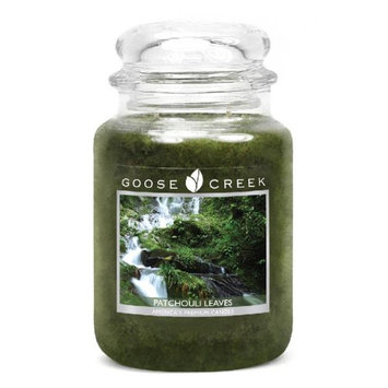 Goose Creek 26-Ounce Patchouli Essential Jar Candle with Glass Lid