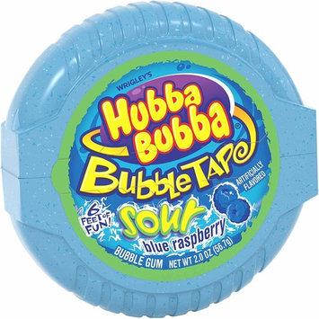 Hubba Bubba Sour Blue Raspberry Bubble Tape, 2 Ounce -- 144 per case.