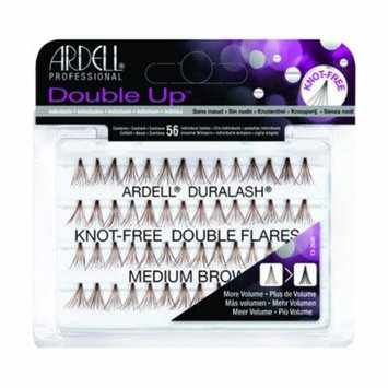 Ardell Individual Double Up Knot Free Flares Brown Med