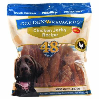 Golden Rewards Chicken Jerky Dog Treats, 48 oz.