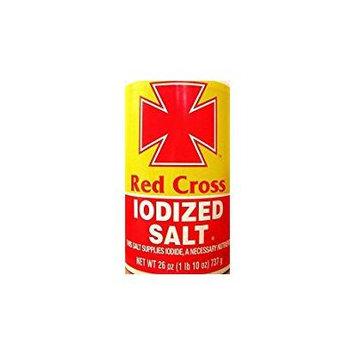 Red Cross Table Salt Koshert For Passover 26 Oz. Pack Of 3.