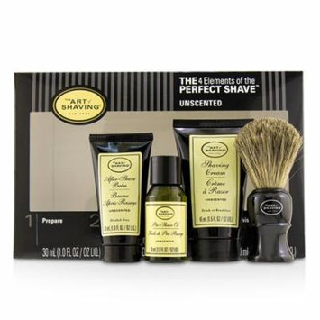 The 4 Elements of the Perfect Shave Mid-Size Kit - Unscented-4pcs