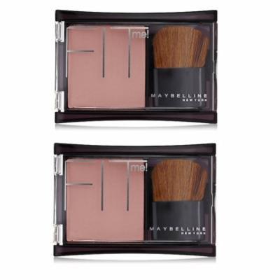 Maybelline Fit Me! Blush, Deep Mauve (Pack of 2) + Makeup Blender Sponge