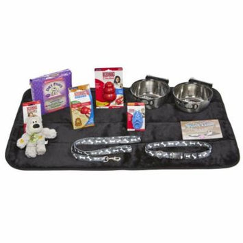 Puppy Starter Kit for Large Dog Breeds, Kit includes: Kong Classic Toys & Treats | Coastal Dog Leash & Collar | MidWest Dog Bowls, Dog Bed & Training Pads
