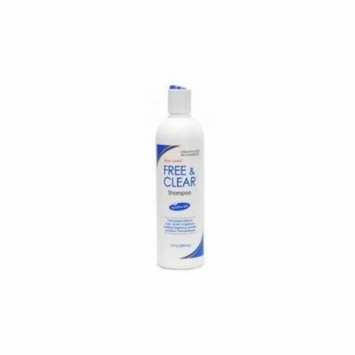 Pharmaceutical Specialties Free & Clear Shampoo for Sensitive Skin, 12 Ounce