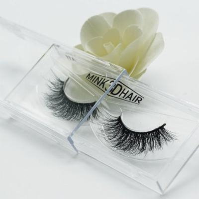 Girl12Queen 3D Real Mink Hair Soft Long Natural Thick Makeup Eye Lashes False Eyelashes