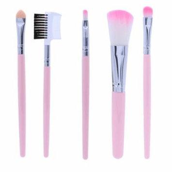 5 Pcs Makeup Brush Set Professional Cosmetics Makeup Brushes Straight Brush Makeup Kit