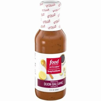 Food Network Kitchen™ Inspirations French Style Dijon Balsamic Vinaigrette 12 fl. oz. Bottle