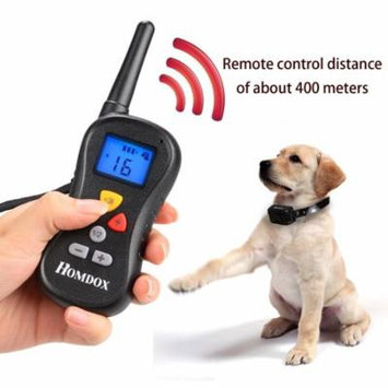 Homdox Stimulation Rechargeable Waterproof Dog Remote 400m Training Collar CCGE