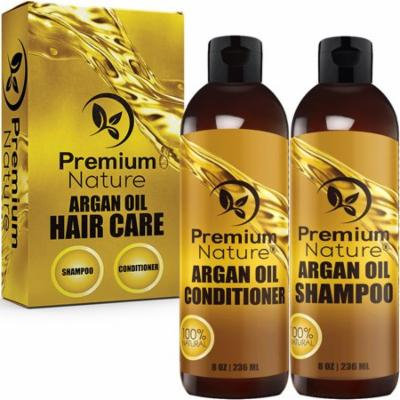Argan Oil Shampoo & Argan Oil Conditioner Set Limited Edition 2.0 8 Oz