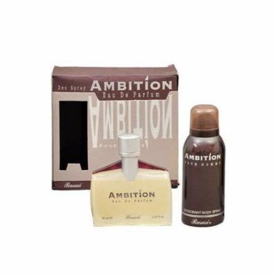 Ambition Pour Homme 70ml with 150 ml Deo By Rasasi
