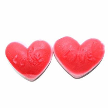 Toms, Red And Pink Heart Gummi (Sweethearts Kart) (2 Lbs)